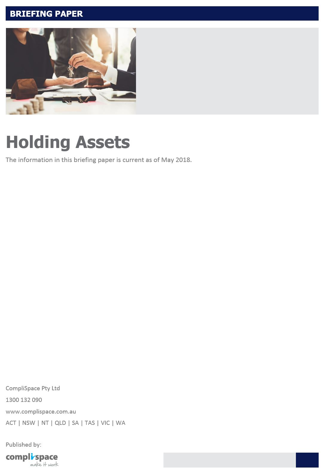 Holding Assets