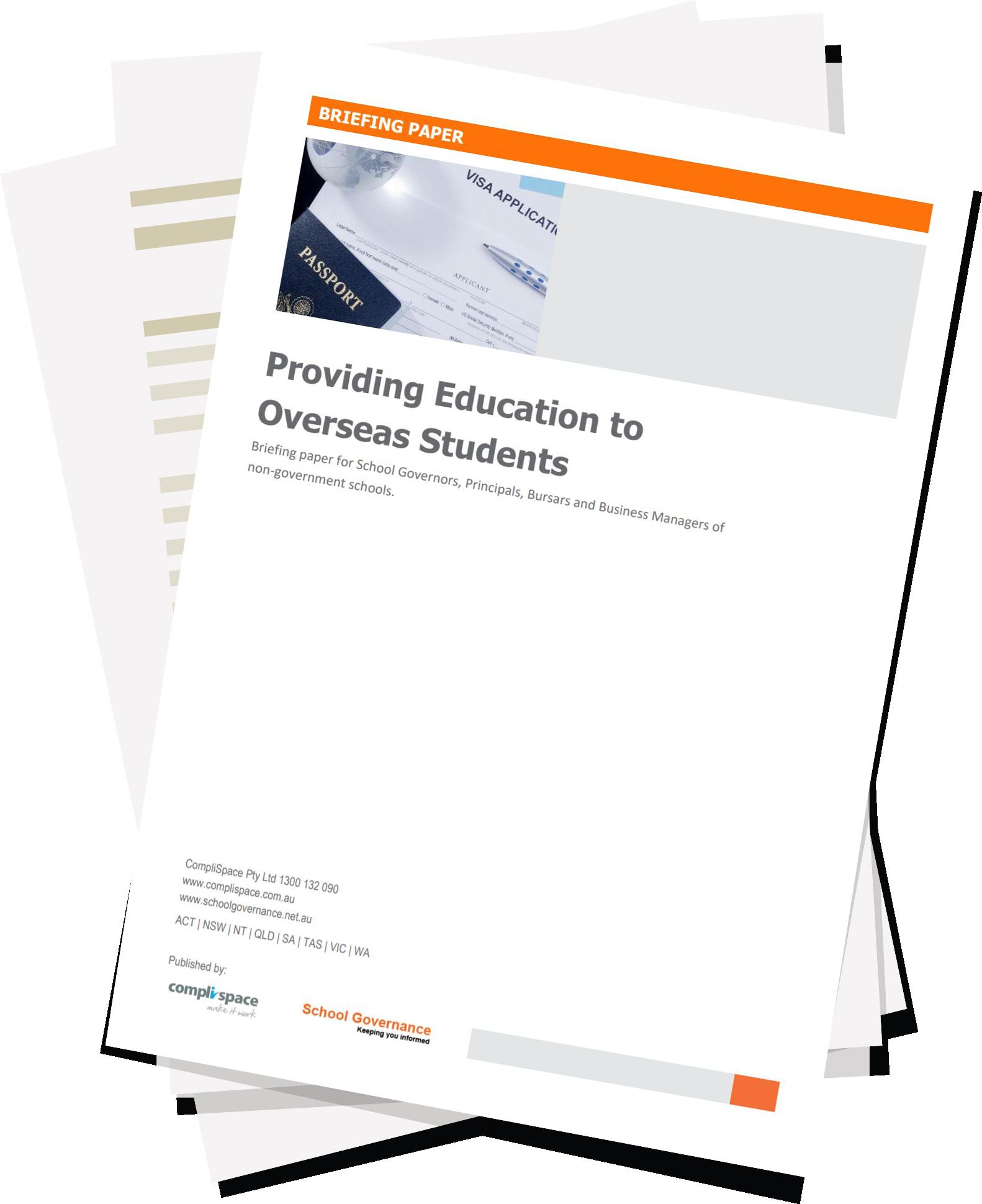 Providing Education to Overseas Students