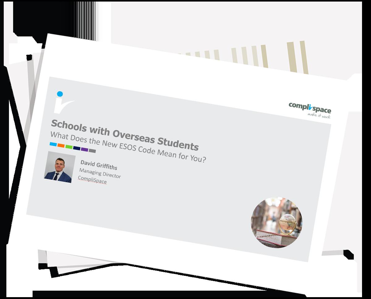 Schools with Overseas Students – Webinar Slide Pack
