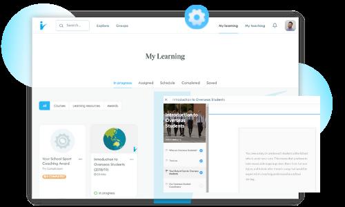 Learning Screen Shot